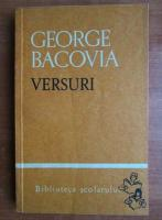 Anticariat: George Bacovia - Versuri