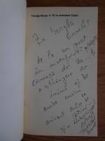George Bocsa - Zi cu monsieur Godot (cu autograful autorului)