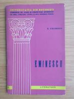 George Calinescu - Eminescu (editie bilingva)