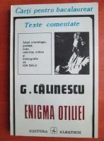 George Calinescu - Enigma Otiliei (texte comentate)