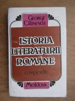George Calinescu - Istoria literaturii romane