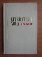 George Calinescu - Literatura noua