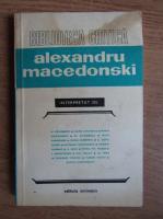 Anticariat: George Calinescu, Mihu Dragomir, Ion Pillat - Alexandru Macedonski