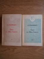 George Calinescu - Opera lui Mihai Eminescu (2 volume)