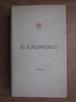 George Calinescu - Opere (volumul 12)