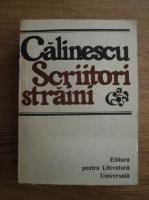 George Calinescu. Scriitori straini