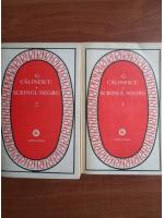 George Calinescu - Scrinul negru (2 volume)