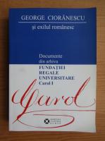 Anticariat: George Cioranescu si exilul romanesc