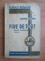 George Cosbuc - Fire de tort (1934)
