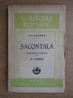 George Cosbuc - Sacontala, poema indiana (1925)