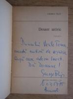 Anticariat: George Filip - Desant satiric (cu autograful autorului)
