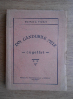 Anticariat: George I. Vladoi - Din gandurile mele. Cugetari (1942)