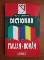 Anticariat: George Lazarescu - Dictionar italian-roman