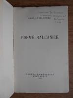 Anticariat: George Magheru, Poeme balkanice (1936)