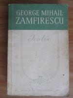 George Mihail Zamfirescu - Teatru