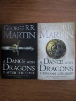 George R. R. Martin - A dance with dragons (2 volume)