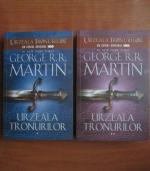 George R. R. Martin - Urzeala tronurilor (2 volume)