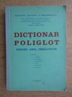 Anticariat: George Sanda - Dictionar poliglot pentru anul pregatitor