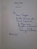 George Timcu - Ritual (cu autograful autorului)