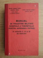 Anticariat: George Toma - Manual de pregatire militara generala a tineretului pentru apararea patriei