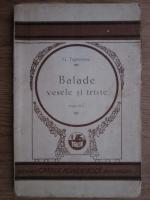George Topirceanu - Balade vesele si triste. Editia  III-a (1928)