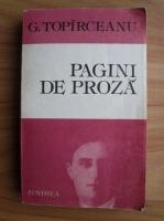 George Topirceanu - Pagini de proza