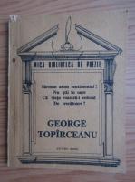 George Topirceanu - Poezii (Mica Biblioteca de Poezie)