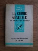 comperta: Georges Champetier - La chimie generale