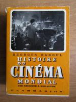 Anticariat: Georges Sadoul - Histoire du cinema mondial des origines a nos jours