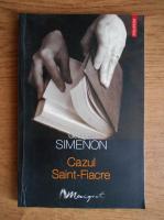 Anticariat: Georges Simenon - Cazul Saint Fiacre