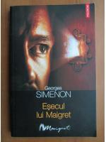 Anticariat: Georges Simenon - Esecul lui Maigret