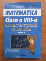 Georgeta Ghiciu, Niculae Ghiciu - Matematica, clasa a VIII-a, exercitii si probleme cu rezolvari (partea II)