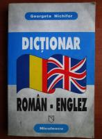 Georgeta Nichifor - Dictionar roman-englez