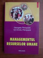 Georgeta Panisoara - Managementul resurselor umane
