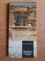 Georgeta Stoica - Rumanischer volkstumlicher Hausbau