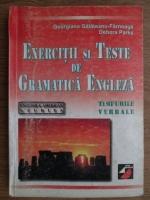 Anticariat: Georgiana Galateanu Farnoaga, Debora Parks - Exercitii si teste de gramatica engleza