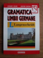 Anticariat: Gerhard Helbig, Joachim Buscha - Gramatica limbii germane