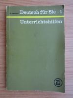 Gertraud Heinricht - Deutsch fur Sie (volumul 1)