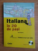Anticariat: Geta Popescu - Italiana in 20 de pasi