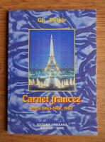 Anticariat: Gh. Bulgar - Carnet francez. Paris 1965-1967, 1987