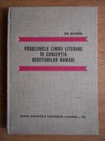 Anticariat: Gh. Bulgar - Problemele limbii literare in conceptia scriitorilor romani