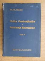 Gh. Em. Filipescu - Statica constructiunilor si rezistenta materialelor (1940)