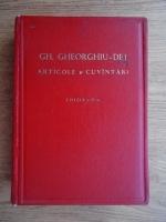 Gh. Gheorghiu-Dej - Articole si cuvantari (Editia a IV-a, 1956)