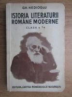 Gh. Nedioglu - Istoria literaturii romane moderne (1937)