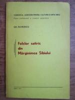 Gh. Pavelescu - Folclor satiric din marginimea Sibiului
