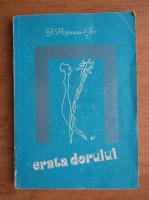 Gh. Popescu Ger - Erata dorului. Poezii de dragoste