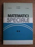 Anticariat: Gh. Sabac - Matematici speciale (volumul 2)