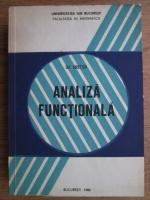 Anticariat: Gh. Siretchi - Analiza functionala