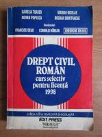 Anticariat: Gheorghe Beleiu - Drept civil roman. Curs selectiv pentru licenta (1998)