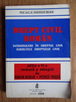 Gheorghe Beleiu - Drept civil roman